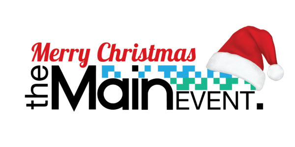 The Main Event Logo xmas